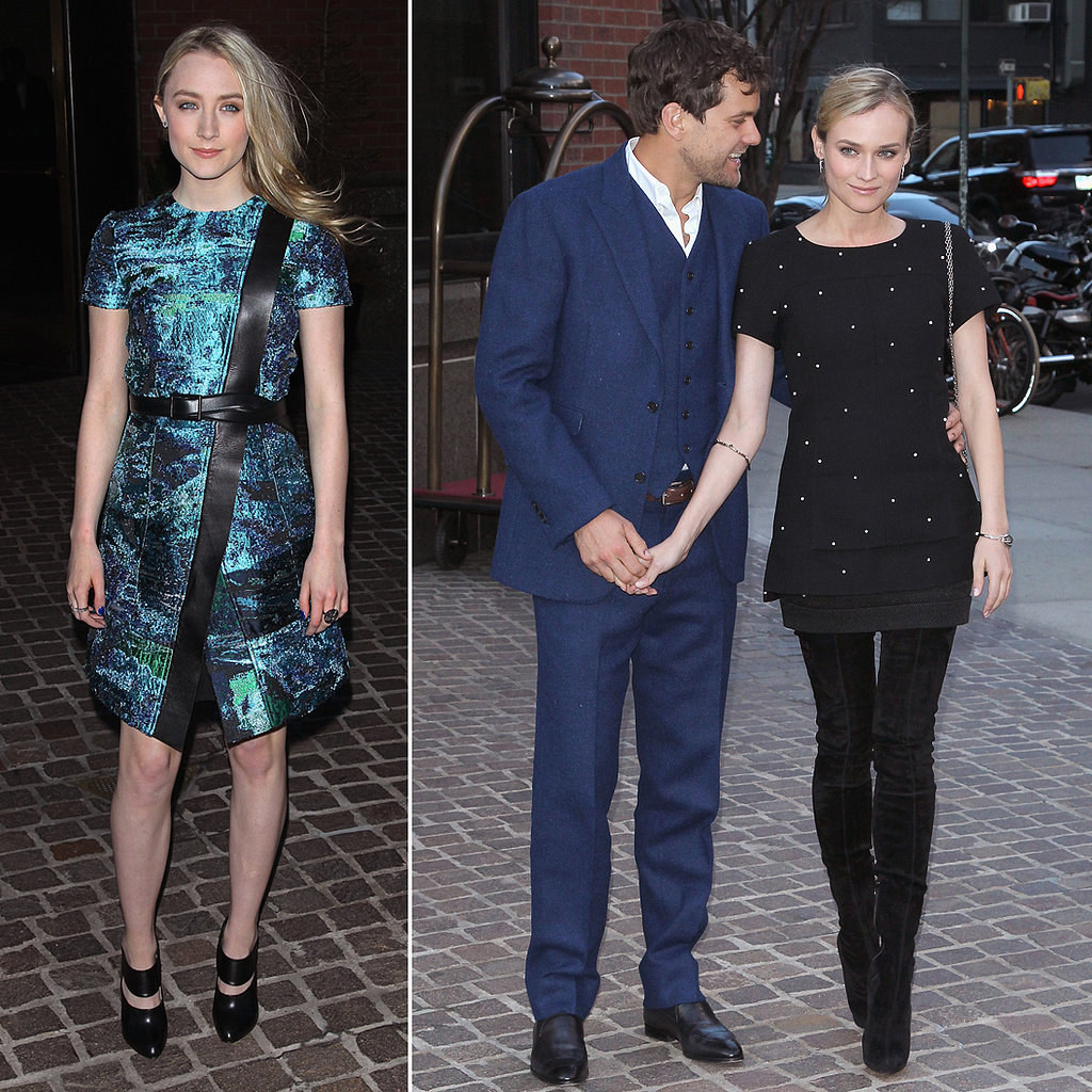 Joshua Jackson Shows Support For Diane Kruger at Host Screening