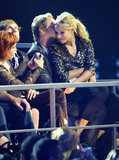 Dax Shepard and Kristen Bell cuddled in the crowd at the 2012 CMT Music Awards.