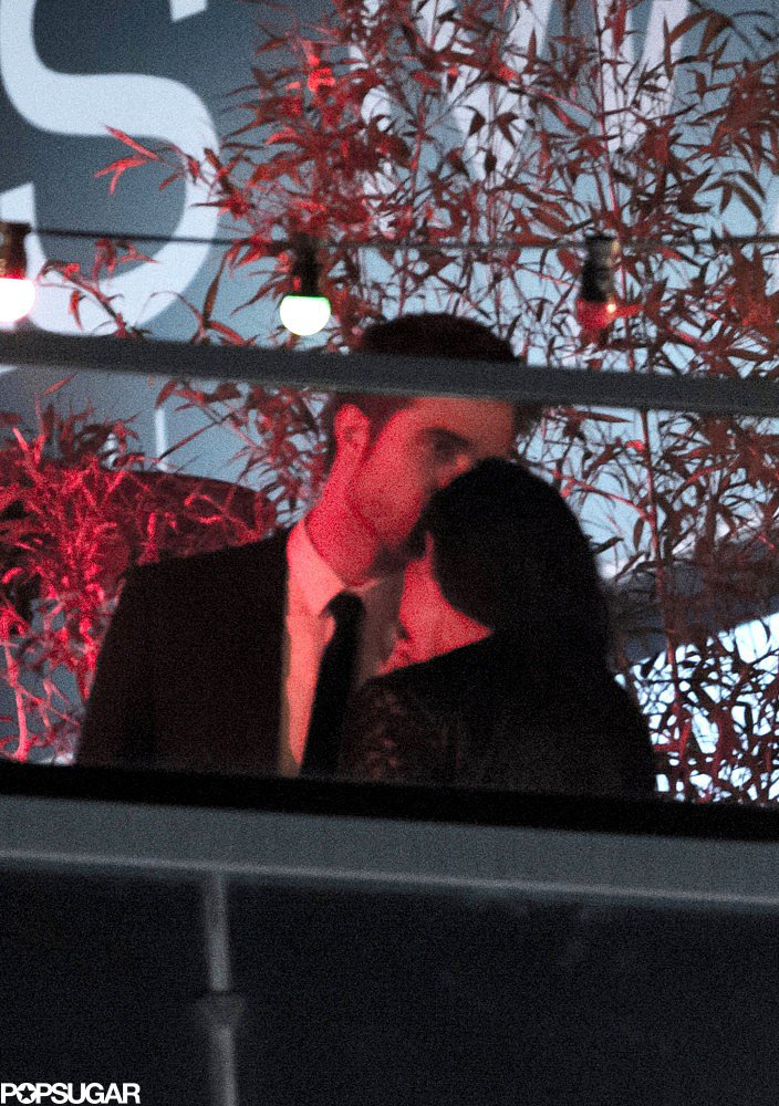 Kristen Stewart and Robert Pattinson snuck away for a private romantic moment to talk and kiss during the On the Road afterparty at the Cannes Film Festival in May 2012.