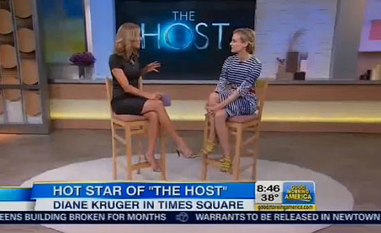 Diane Kruger Talks Handling Teenage Boys During Host Press