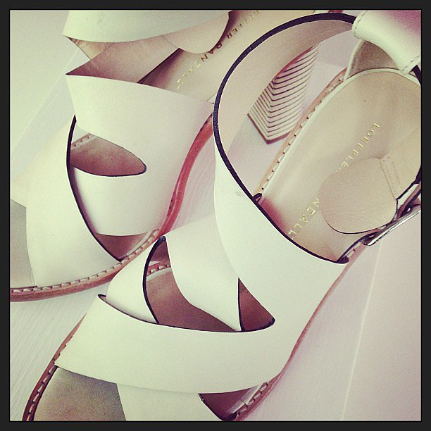 Superstrappy sandals from Loeffler Randall.