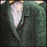 This tweed number from Band of Outsiders is already getting us excited again for Fall dressing.