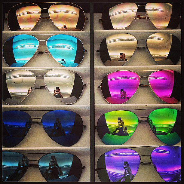 Victoria Beckham shades in every shade.