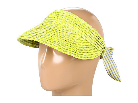 Who said visors aren't cool? Instantly amp up your denim mini with this straw BCBGeneration visor ($28).