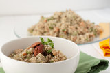 Sweet and Savory Quinoa Papaya Salad