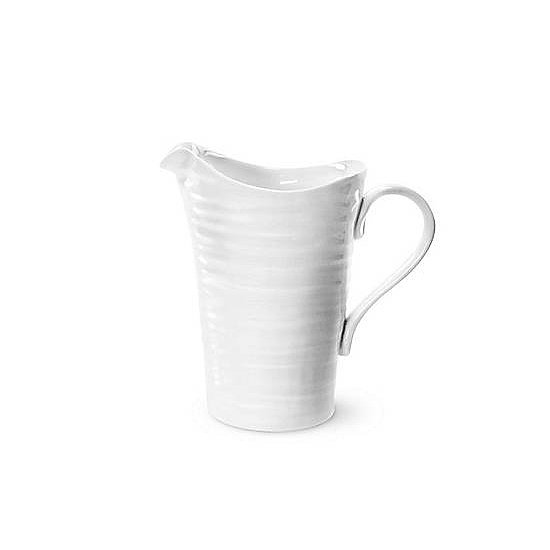 Whether you're displaying flowers or serving drinks, a simple white pitcher ($17) is a brunch staple.