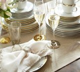 An entertaining staple, these neutral linen napkins ($38 for four) will add casual luxury to any occasion.