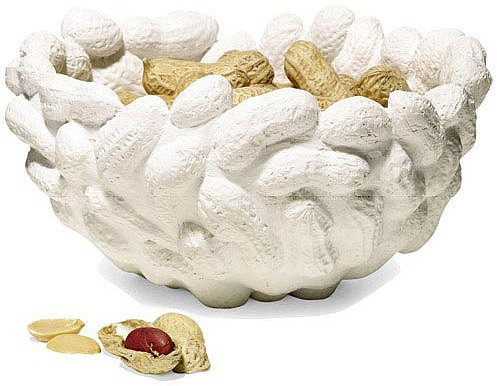 Areaware - Peanut Bowl Set of 2