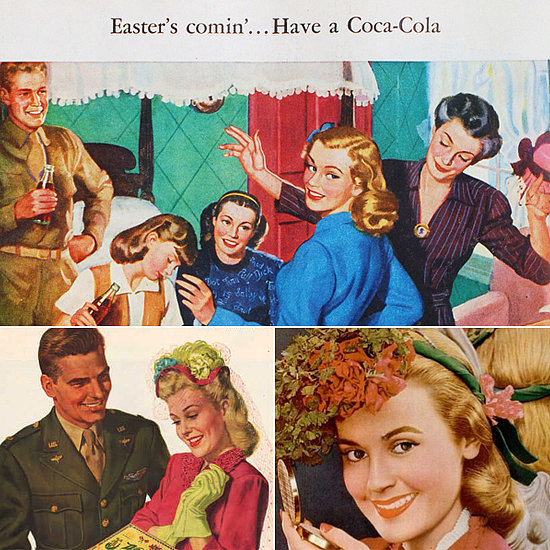 Hunt For Eggs in Your Sunday Best With Women in Vintage Easter Ads