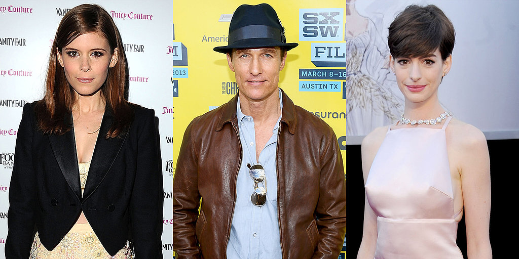 Matthew McConaughey Goes Interstellar and More of the Week's Biggest Casting News