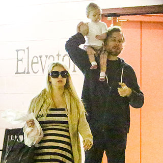 Jessica Simpson With Eric and Maxwell in LA | Pictures