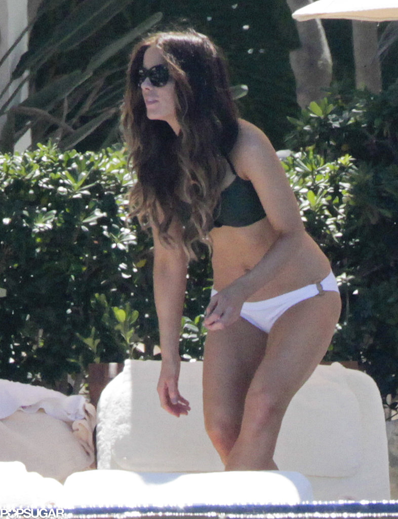 Kate Beckinsale vacationed in Mexico.