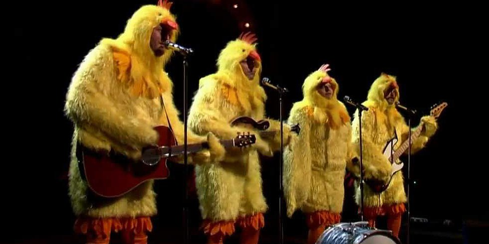 Video: Blake and Jimmy in Chicken Suits, BSB Doing the Harlem Shake, and More Viral Videos!