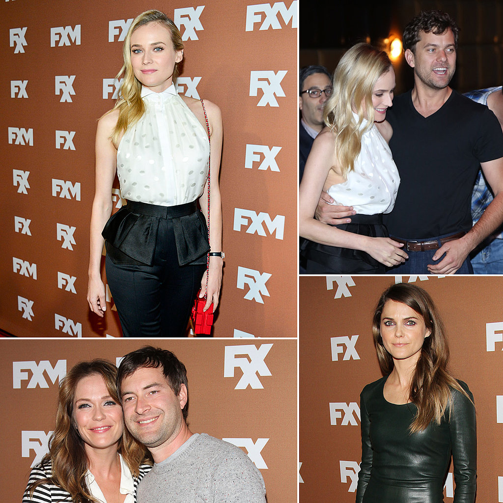 Diane Kruger and Joshua Jackson Show Sweet PDA at FX Fete