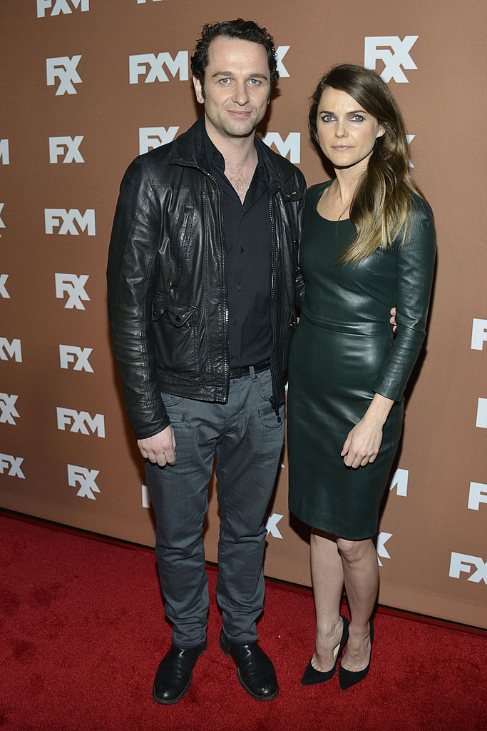 Keri Russell posed with her Americans costar Matthew Rhys.
