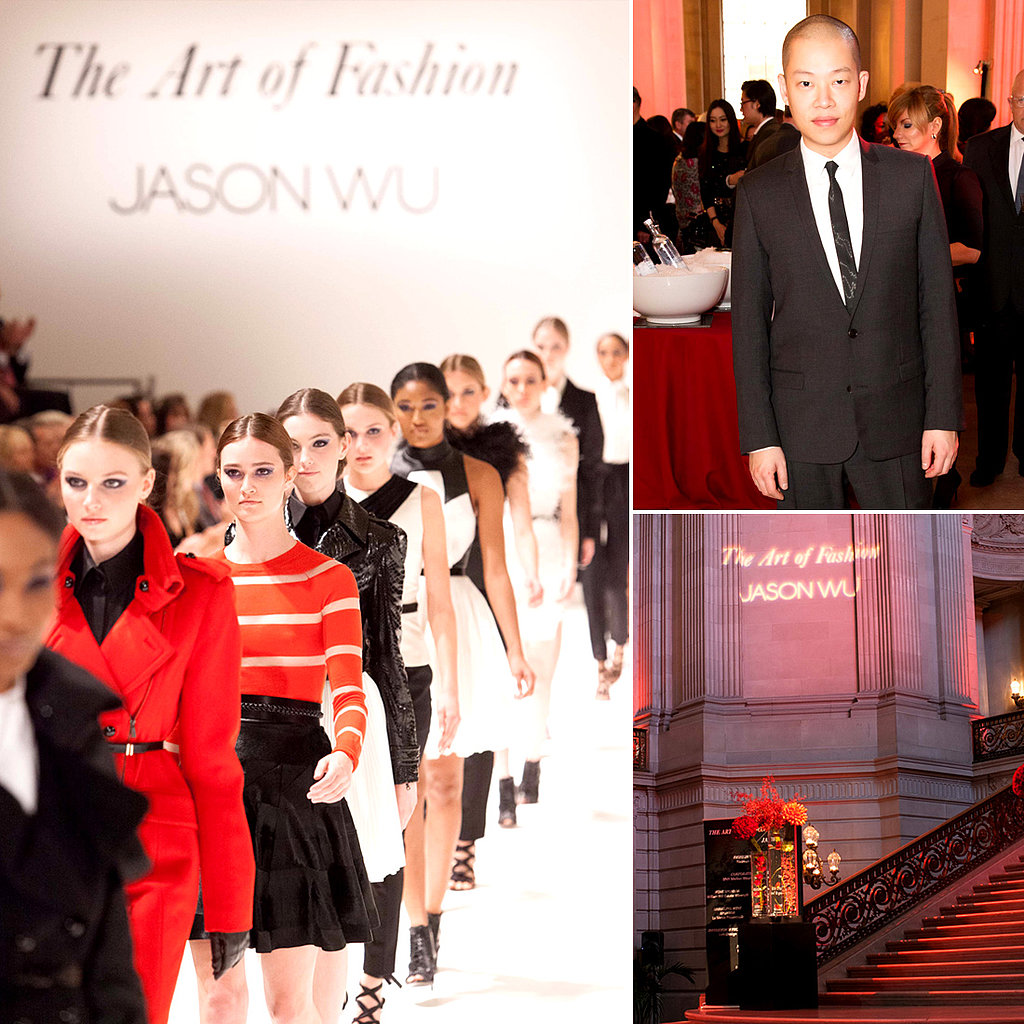 Jason Wu Brings His Fall '13 Collection to San Francisco's City Hall