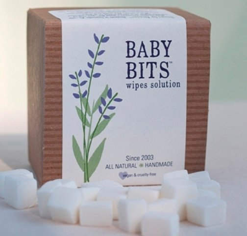 Baby Bits Wipe Solution