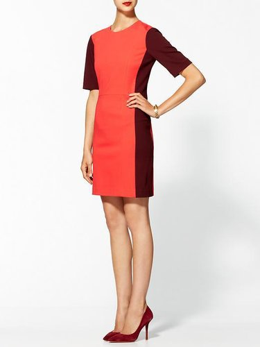 Tibi Colorblock Ponte Dress
