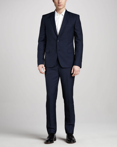 Versace Collection Trend-Fit Suit, Navy