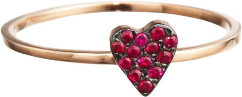 Ileana Makri Ruby Love Ring