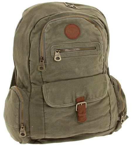 Roxy - Ship Out Backpack (Army Green) - Bags and Luggage