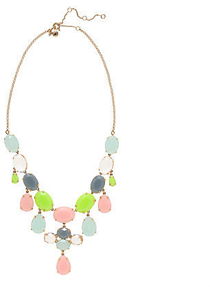 Crystal drops necklace