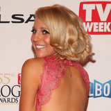 Pictures of Carrie Bickmore at the 2013 Logies