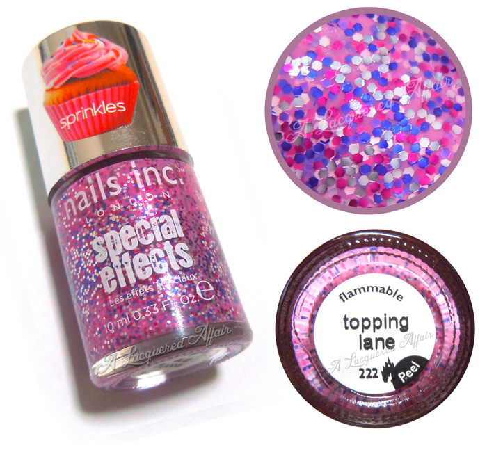 Nails Inc. Topping Lane (Sprinkles)