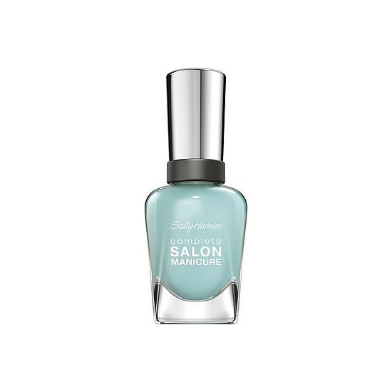 "A pop of blue is a trending manicure choice for Spring, and Sally Hansen Complete Salon Manicure in Barracuda ($8) is the perfect way to get in on the trend. The eye-catching pastel works for wedding season, too, to satisfy the ""something blue"" portion of the ceremony."