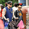 Nicole Richie and Kids at Disneyland | Photos