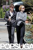 Evan Rachel Wood Shows Her Bump on a Weekend Walk With Jamie Bell