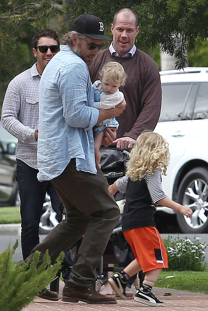 Jessica Simpson Spends Easter Sunday With Eric, Maxwell, and Bronx