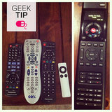 Toss all those other remotes aside and get yourself a new universal remote.  Source: Instagram user sayjanna