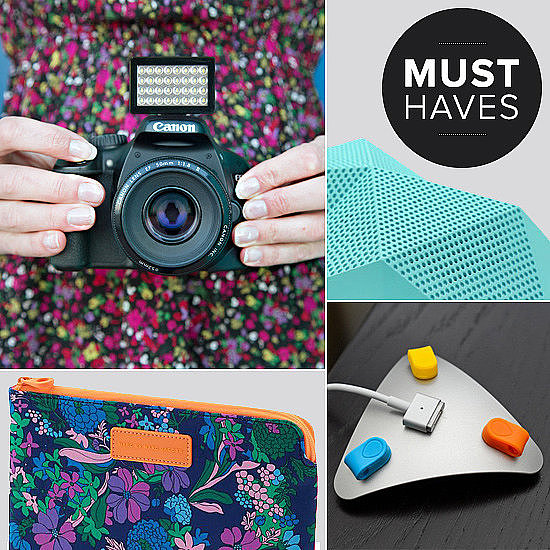 From a favorite portable speaker to workstation organization to the perfect photo light and even dinosaurs, see what the POPSUGAR Tech editors simply must have this month.