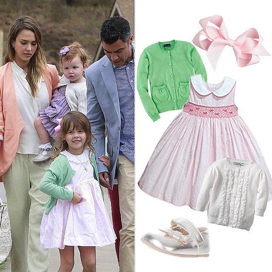 Get the Look: Honor and Haven Warren Are Pretty in Pastels