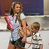 Britney Spears and Sons Leave Louisiana After Easter