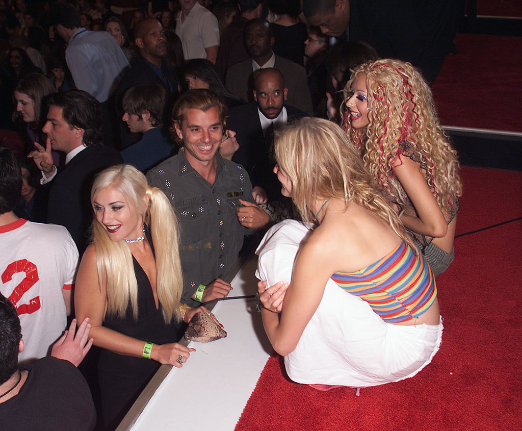 In 2001, Gwen Stefani and Gavin Rossdale chatted with Cameron Diaz and Christina Aguilera.