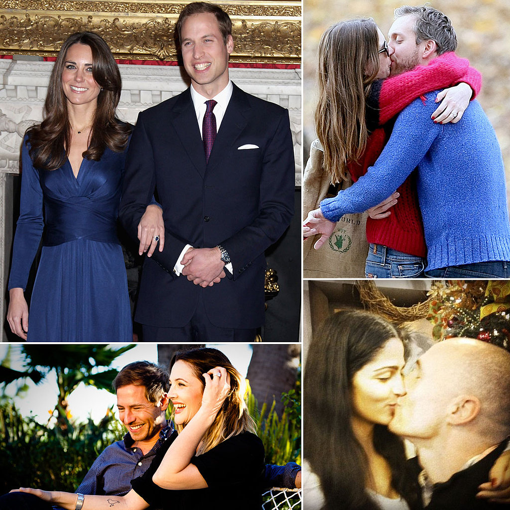 The Most Memorable Celebrity Engagement Reveals