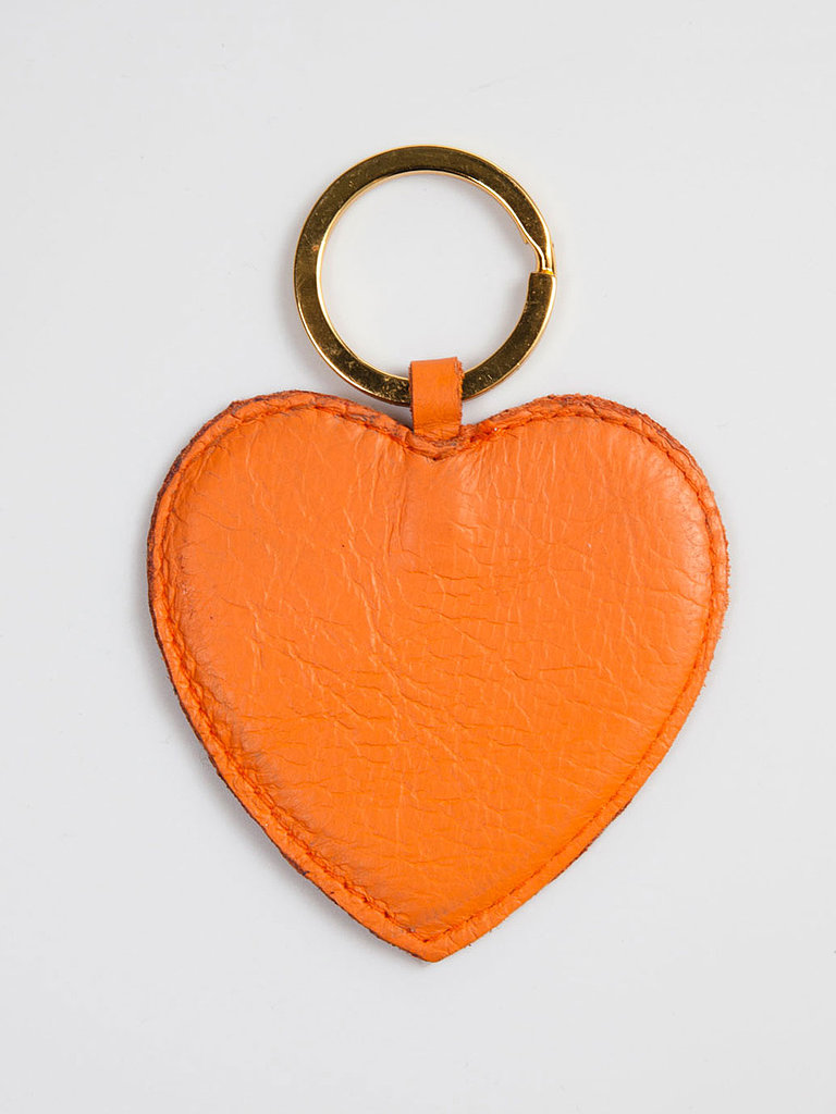 Wear your heart on your key with this leather American Apparel key ring ($8).