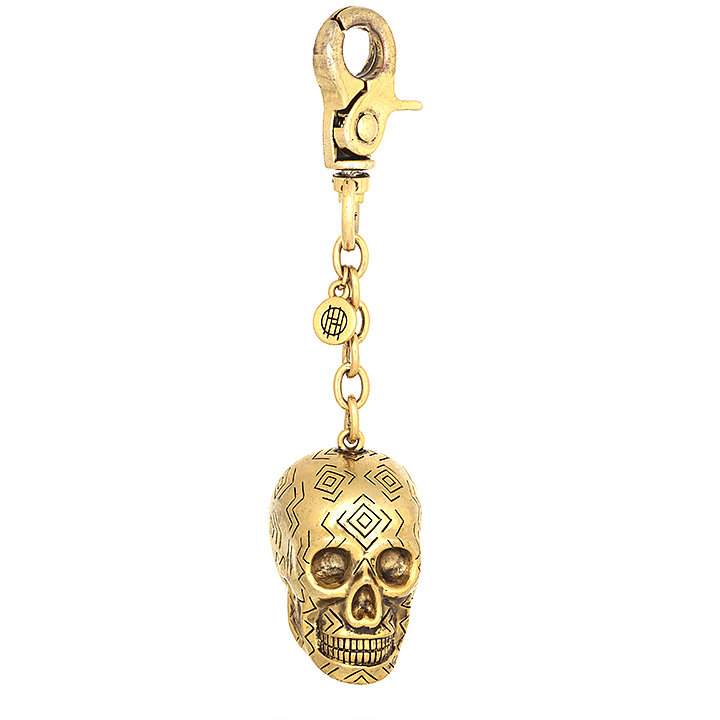 Add a touch of goth-girl edge to your latchkey with this House of Harlow skull key chain ($49, originally $65).