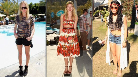 The Best Celebrity Looks From Coachellas Past!