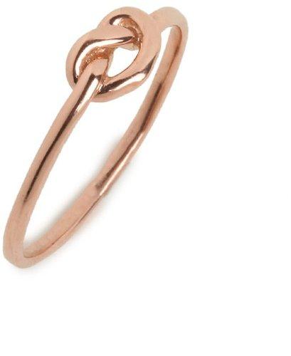 Ariel Gordon Rose Love Knot Ring