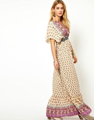 Pepe Jeans Kimono Maxi Dress