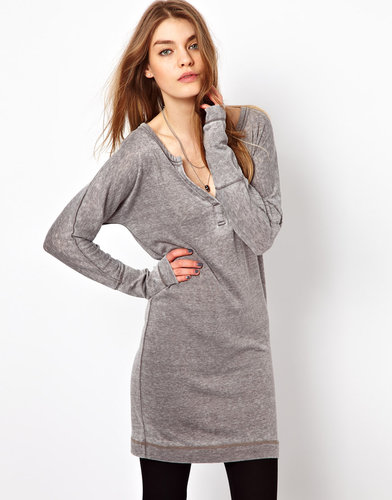 Sauce Henley Mini Dress