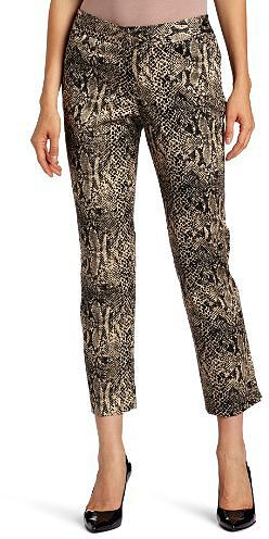 Rafaella Women's Shadow Reptile Ankle Pant