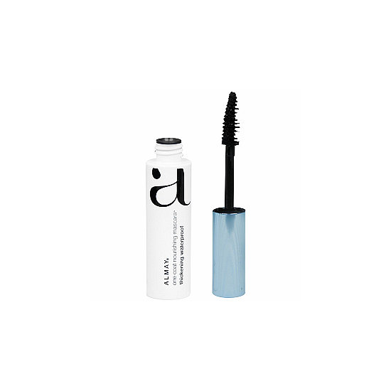 Almay's One Coat Thickening Mascara ($7) lives up to its name: it noticeably thickens lashes and swipes on in one coat.