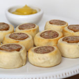 Pigs in a Blanket With Chicken Sausage