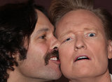 Paul Rudd and Conan O'Brien shared a weird personal moment. Source: Team Coco