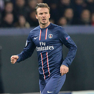 David Beckham Starts Against Barcelona