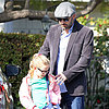 Ben Affleck and Violet Affleck in Santa Monica | Pictures